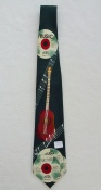 Gents Neck Tie with CDs & Acoustic Guitar