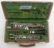 Huller  Full Conservatoire Wooden Oboe. With Thumb plate