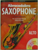 Abracadabra Alto Saxophone  Beginners Book With 2 C.D