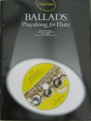 Ballads Playalong for Flute. Guest Spot Series.With C.Dpop the C.D into your player