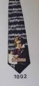 Neck Tie with Beethoven Design