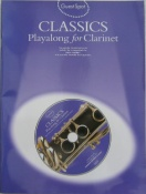 Playalong Classics For Clarinet Guest Spot Series with C.D.