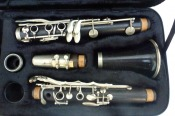 Herbert Couf Wooden Bb Clarinet (with Brand New Case)
