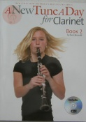 New Tune a Day For Clarinet Book 2 With C.D