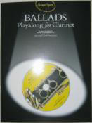 Guest Spot Series. Ballads. Playalong for Clarinet.