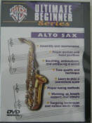 Ultimate Beginner Series.  Alto Sax DVD