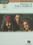 Pirates of the Caribbean for Tenor Saxophone with C.D